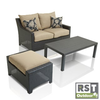 RST Delano Outdoor 3-piece Patio Furniture Set