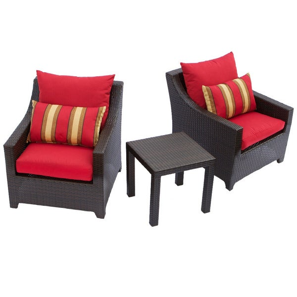 rst brands cantina 3 piece patio furniture set overstock shopping