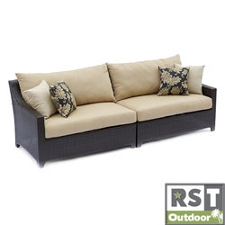 RST Delano Outdoor Espresso Finish Sofa