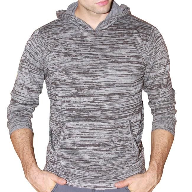 191 Unlimited Men's Grey Heathered Hoodie