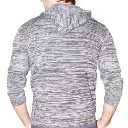 191 Unlimited Men's Grey Heathered Hoodie