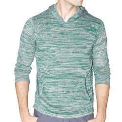 191 Unlimited Men's Green Heathered Hoodie