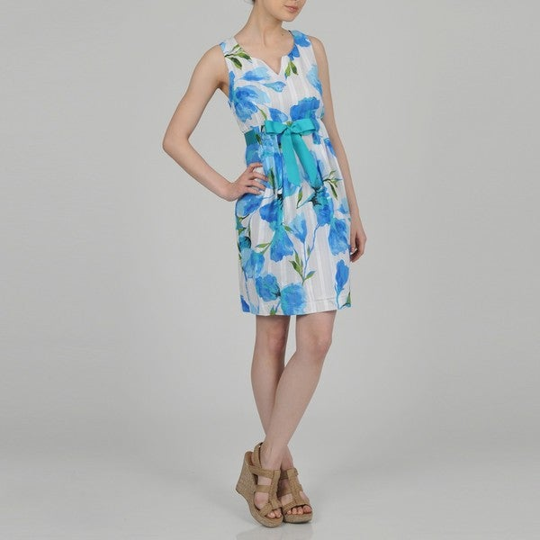 Signature by Robbie Bee Women's Floral Sundress
