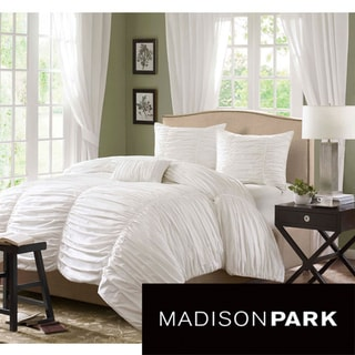 Madison Park Catalina 4-piece Duvet Cover Set