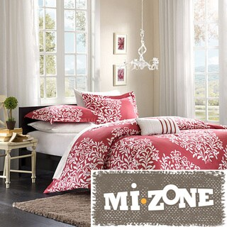 Mizone Lyon Pink 4-piece Comforter Set
