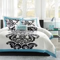 Mi Zone Santorini Teal 4-piece Comforter Set