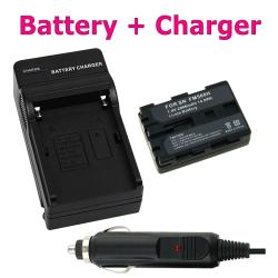 INSTEN Sony NP-FM500H Battery Chargers/ Li-Ion Battery