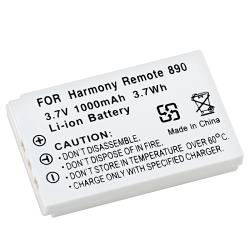 BasAcc Li-Ion Battery compatible with Logitech Harmony Remote 890