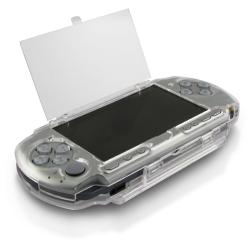 BasAcc Clear Crystal Case for Sony PSP 3000