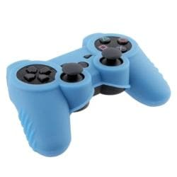 INSTEN Light Blue Soft Silicone Skin Case Cover for Sony Playstation 3