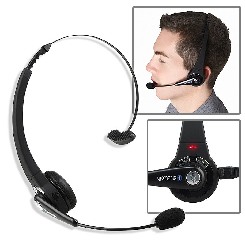 INSTEN Black Wireless Bluetooth Headset for Sony PS3/ PS3 Slim