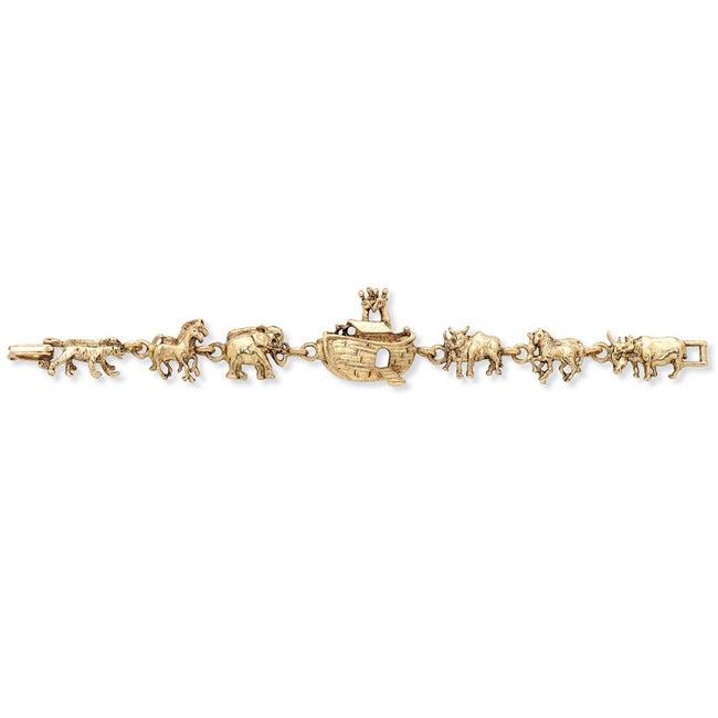 Toscana Goldplated Noah's Ark Link Bracelet