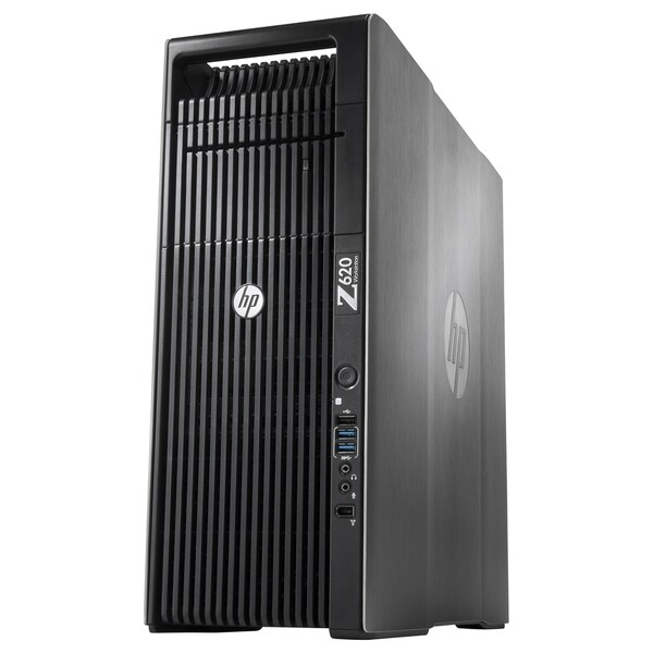 HP Z620 Convertible Mini-tower Workstation - 1 x Processors Supported