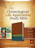 Chronological Life Application Study Bible: New Living Translation Brown / Green / Dark Teal TuTone LeatherLike (Paperback)