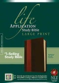 Life Application Study Bible: New Living Translation, Brown / Tan TuTone LeatherLike (Paperback)