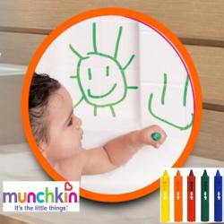 Munchkin 5-piece Bath Crayons