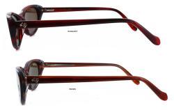 Lulu Guiness Women's L457 Cat Eye Sunglasses