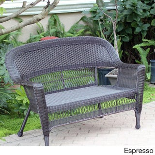 Wicker Patio Love Seat