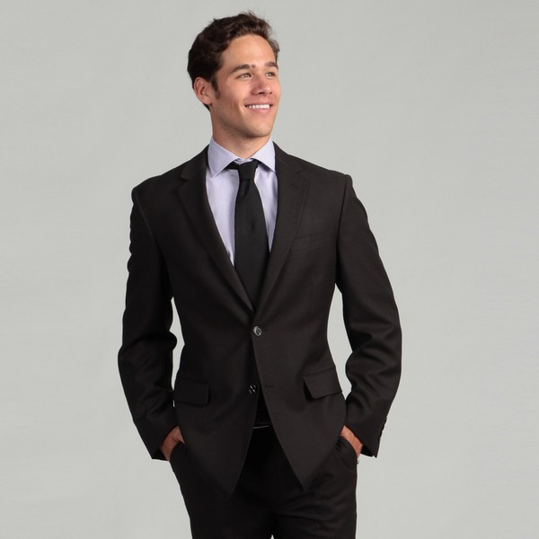 Oxford Republic Slim Fit Grey Birdseye Suit