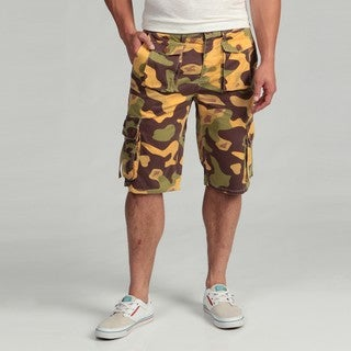 Under Two Flags Men's Camo Cargo Shorts FINAL SALE