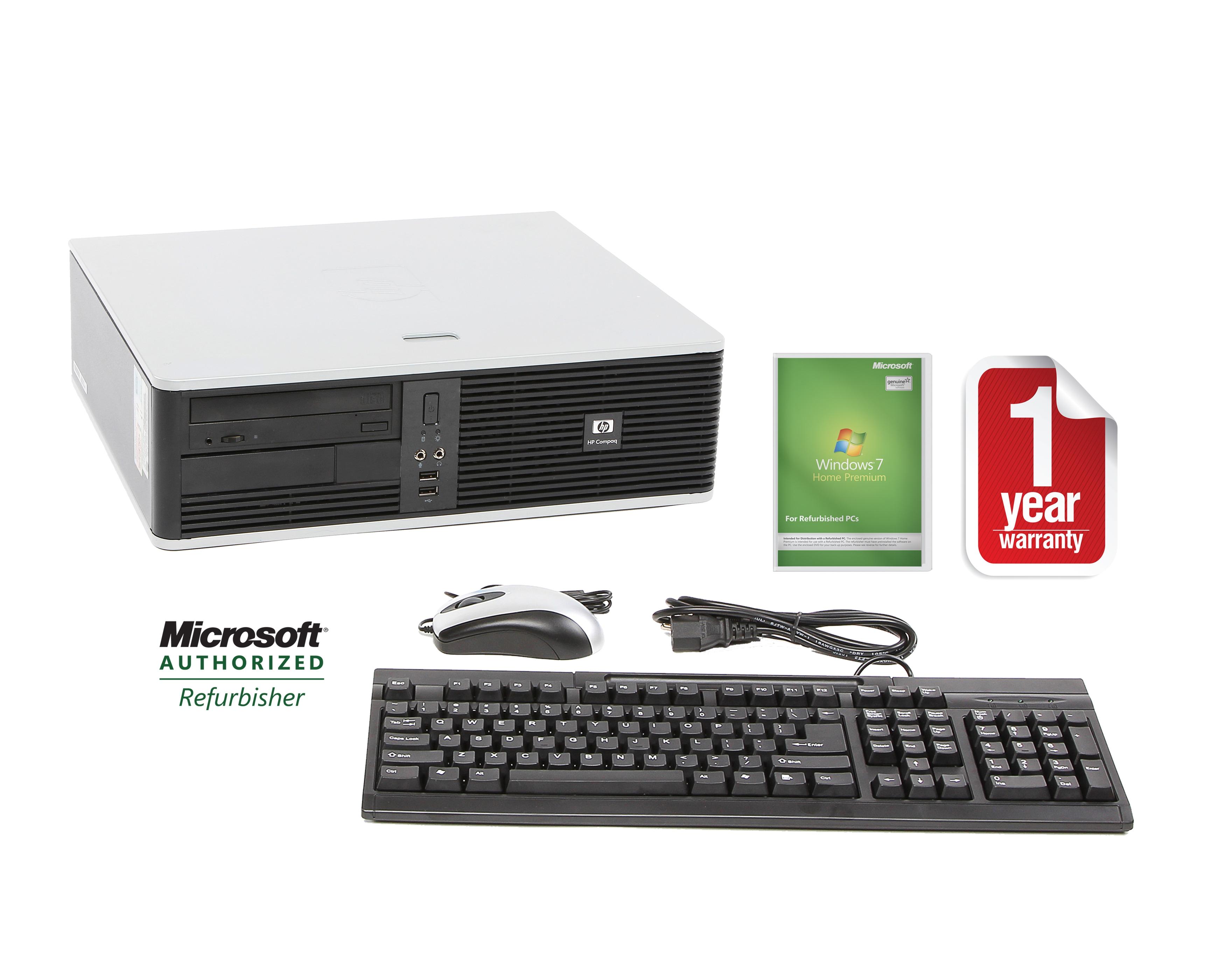 HP DC5800 1.6GHz 160GB SFF Desktop Computer (Refurbished)
