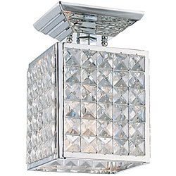 Chelsea Polished Chrome 1-light Semi-flush Fixture