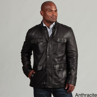 Marc New York Men's Four-pocket Leather Jacket FINAL SALE