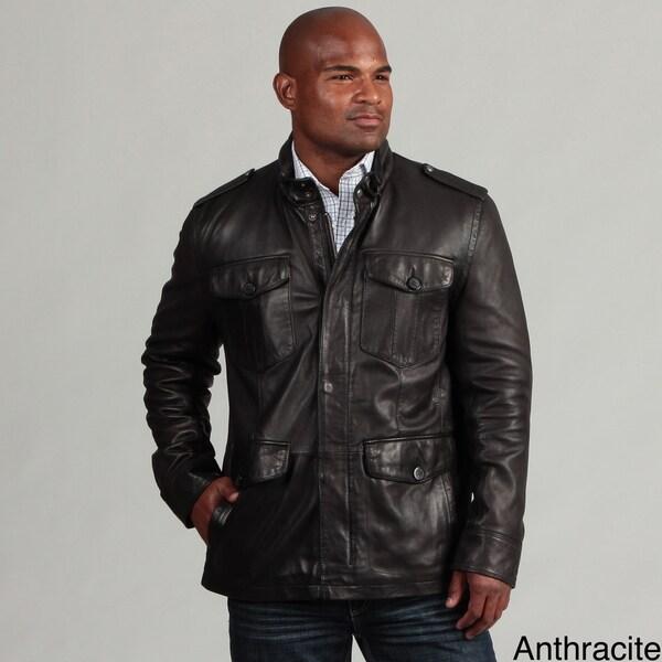 Marc New York Men's Four-pocket Leather Jacket FINAL SALE