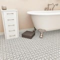 SomerTile Castle White Porcelain Mosaic Tile (Pack of 10)