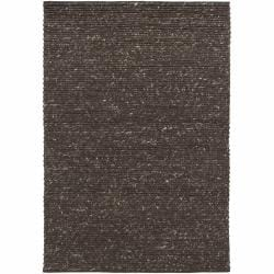 "Handwoven Mandara Rug with Braided Pattern (7'9"" x 10'6"")"