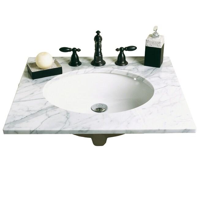 Decolav Vitreous China Undermount Sink