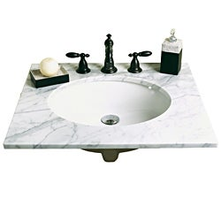 Decolav Vitreous China Undermount Sink