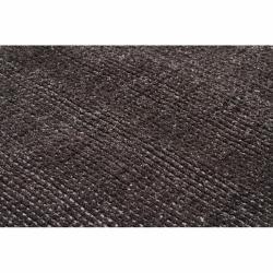 Handwoven Polyester Mandara Brown Shag Rug (5' x 7'6)