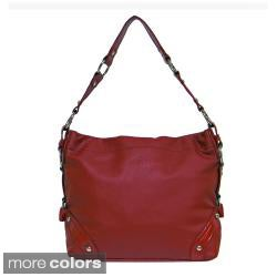 Donna Bell Designs 'Fiametta' Faux Leather Shoulder Bag