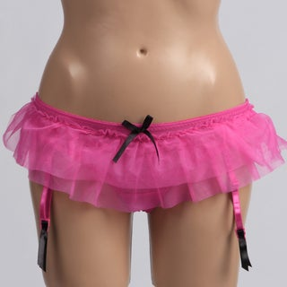 Panty Party Collection Fuchsia Tutu Thong Panties