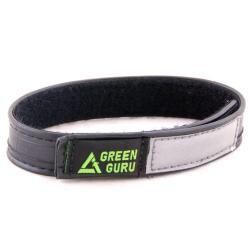 Green Guru Wide Adjustable Safety Ankle Strap with Reflective Strip
