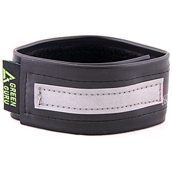 Green Guru Wide Adjustable Safety Ankle Strap with Reflective Strip