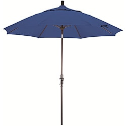 Fiberglass 9-foot Pacifica Pacific Blue Crank and Tilt Umbrella