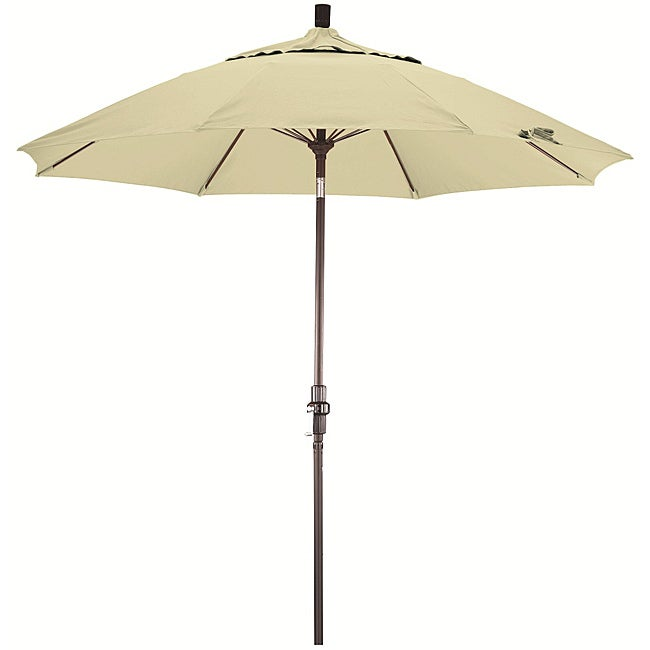 Natural White Fiberglass Olefin Crank and Tilt Umbrella at Sears.com