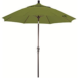 Fiberglass 9-foot Ginkgo Olefin Crank and Tilt Umbrella