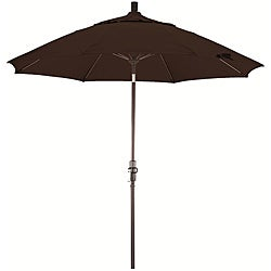 Fiberglass 9-foot Pacifica Mocha Crank and Tilt Umbrella