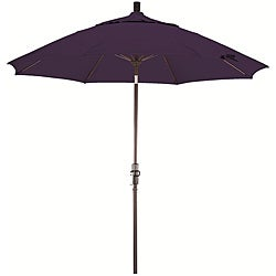 Fiberglass 9-foot Pacifica Purple Crank and Tilt Umbrella