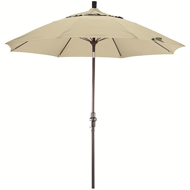 Fiberglass 9-foot Pacifica Canvas Crank and Tilt Umbrella