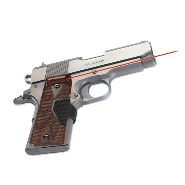 Crimson Trace 1911 Compact Walnut Pro-series Laser Grip
