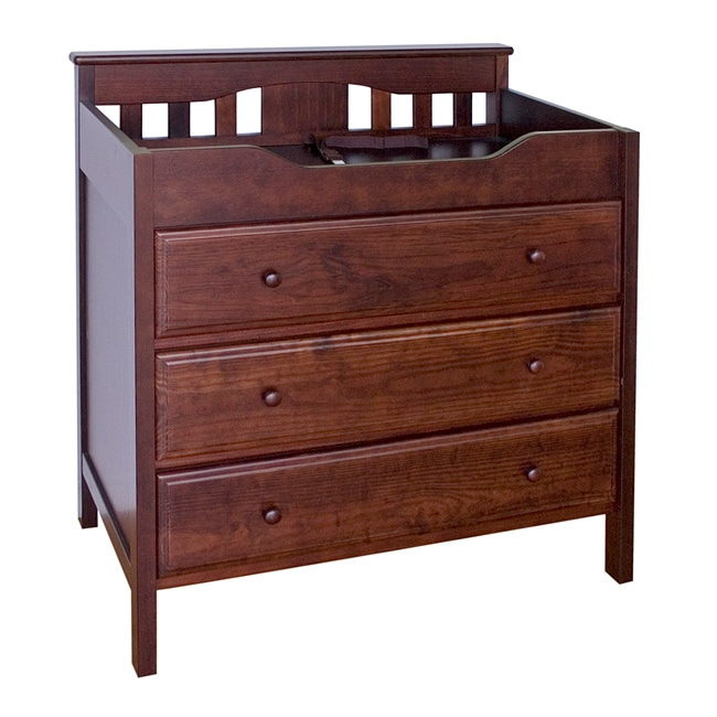DaVinci Jayden 3-drawer Changing Table in Espresso
