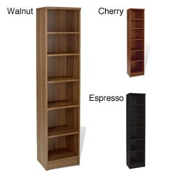 Jesper Office Narrow 5-shelf Bookcase