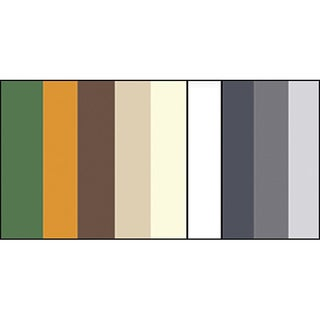 Earth Tone Colors Quilling Paper (Set of 100)