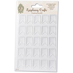 Epiphany Crafts Clear Pennant Bubble Caps for EC Shape Studio