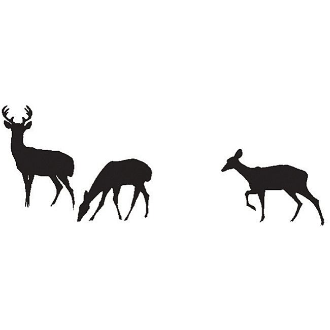 Art Impressions Wilderness 'Deer' Cling Rubber Stamp