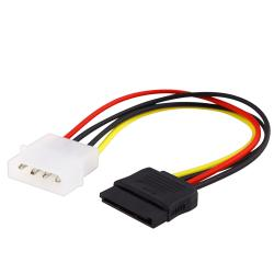 INSTEN 6-inch Internal Power 5.25m to SATA Cable